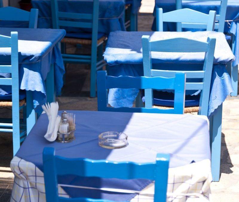 Wieso ist in Griechenland alles weiß und blau?